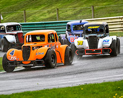 K&N supported John Mickel arrived at Snetterton Circuit for round 14 of the 2015 UK Legends Championship on a high note following a full sweep of six race wins at Silverstone Circuit - Rod Tietjen (Motorsport Action) Photo