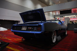 This 1971 Plymouth Barracuda made a splash at the 2012 SEMA Show