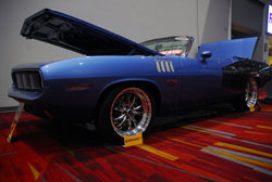 This 1971 Cuda was shown at SEMA 2012 by owner Brad Weber