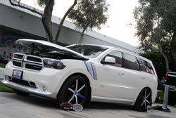 This 2012 Dodge Durango was build by The Custom Shop for the 2012 SEMA Show