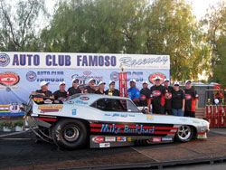 John Hale and his team were recently victorious at the 20th California Hot Rod Reunion at Famoso, and in turn ended the season second in the NHRA Heritage Series Points.