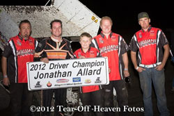 Jonathan Allard wins 2012