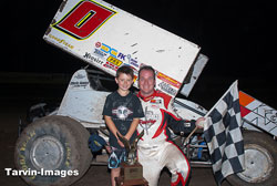 There is some tough Sprint Car competition on the west coast