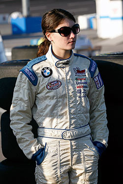 Julia Landauer during the NASCAR Drive for Diversity Combine at Motor Mile Speedway