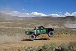 Team Green Army Trophy Truck Being Driven By Justin Davis