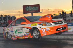 Although inly 25-years-old, Justin Lamb is already solidifying his reputation as a winner in NHRA drag racing.