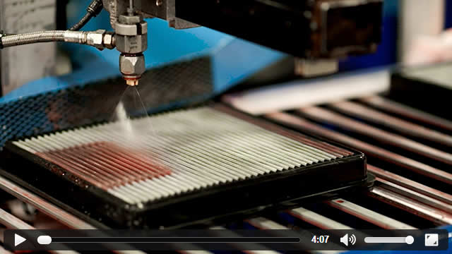 Video showing an inside look at how K&N designs, manufactures, and tests a K&N performance air filter