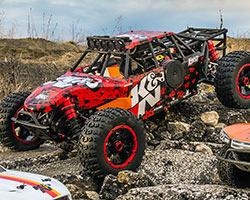 Horizon Hobby Losi 1/5 K&N DBXL 4WD Buggy RTR With K&N Air Filter
