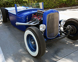 """In Southern California during the 1930's, the term """"Hot Rod"""" was used to reference old Fords, typically Model Ts or Model As, modified to reduce weight and increase horsepower"""