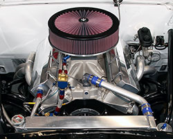 An incredibly common way to increase horsepower of most carbureted cars & trucks is to replace the restrictive enclosed air cleaner assembly with a performance K&N open air cleaner