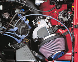 In the early 90's K&N pioneered the Fuel Injection Performance Kit (FIPK) as an easy way to increase horsepower in fuel injected vehicles by eliminating the restrictive stock air filter box