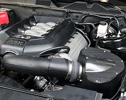 Some vehicles' electronic engine controls are so sensitive that additional features such as enclosed air boxes, additional air inlets, or cold air intake scoops are used to increase horsepower