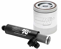 K&N washable and reusable oil filters