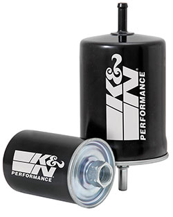 The high-performance cellulose glass media used in the K&N performance factory replacement fuel filters removes contaminants such as rust, dirt, scale and other foreign materials