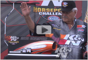2010 K&N Horsepower Challenge Sweepstakes Winners Gather to See Who Will Win Harley Davidson Motorcycle