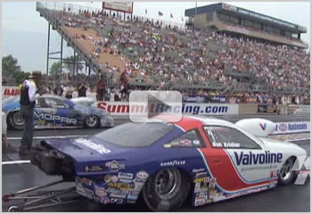 Interviews with NHRA Pro Stock Drivers Ron Krisher, Mike Edwards, Allen Johnson and Warren Johnson