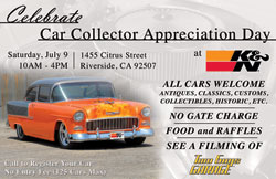 K&N Car Show Flyer