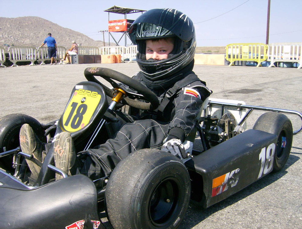 7 Year Old Kasey Gillis is a Bright Young Up-and-Coming K&N Champion