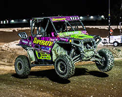 Katie Vernola earns 4th place finish in the Lucas Oil Regional Off-Road Series Walker Evans RZR 900 class