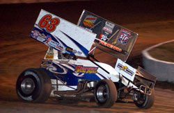 K&N backed Chad Kemenah opened his World of Outlaws season with a solid second place.