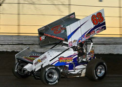 For 2013 CKR sports a new paint scheme on their car.