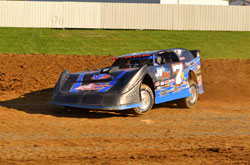 Kent Robinson is looking forward to a competitive season in the Late Model class in 2012.