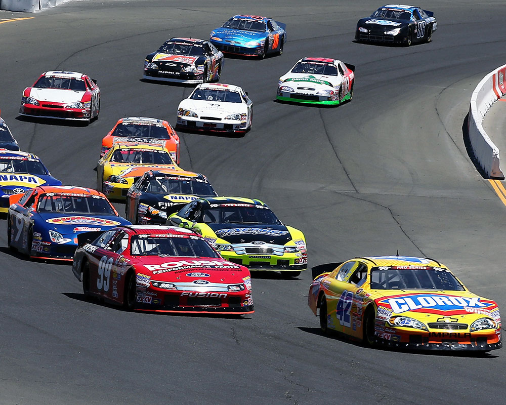Kyle Larson Had The Fast Qualifying Time In Clorox Chevrolet And Led Every Lap Of
