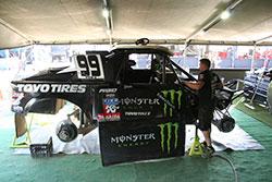 Kyle LeDuc Pro4 race truck