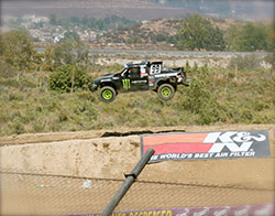 Kyle LeDuc Pro4 race truck #99