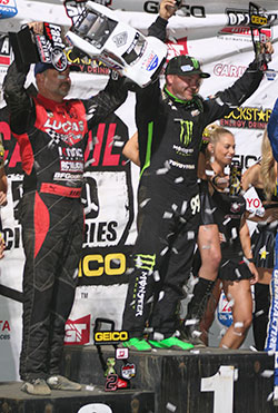 Kyle LeDuc 1st place finish on Saturday and Sunday at Round 9 & 10 of the Lucas Oil Off Road Series at Glen Helen Raceway