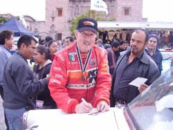 Steve Waldman at La Carrera Panamerica
