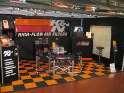 K&N Distributer, Aaltonen Motorsports at Ninth Annual Caravan Finland Show