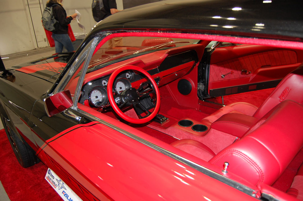 The Interior Was The Focus On This 1968 Ford Mustang GT SEMA Show Vehicle