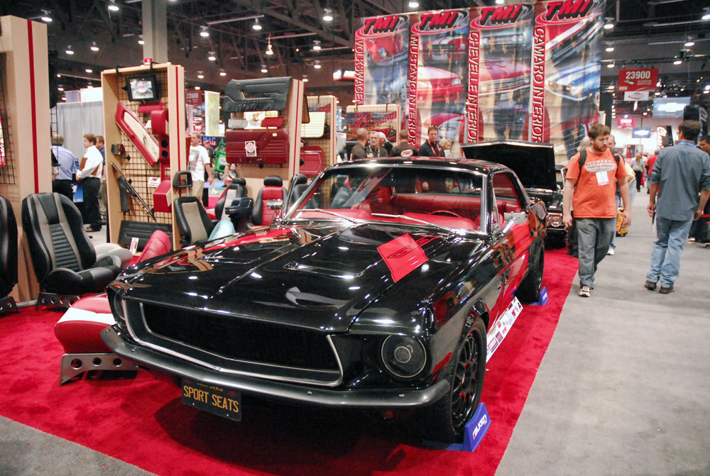 Larry Ashley S Custom 1968 Ford Mustang Gt Features K Amp N