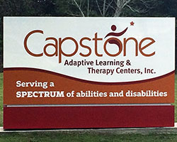 Capstone Adaptive Learning & Therapy Centers in northwest Florida is the premier provider of quality care for children and students with developmental disabilities