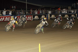 Henry Wiles and Lloyd Motorsports recently missed a victory at Lima, Ohio by .22 seconds