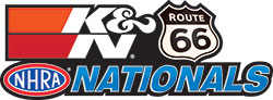 Along with being the official filter of NHRA, K&N was also named the title sponsor of the Route 66 Nationals.
