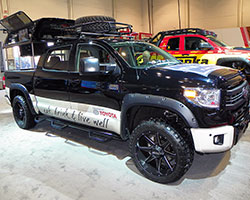 Tim Love worked with Divine 1 Customs on this Tundra