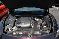 Sean Sheppard's 2010 Nissan Maxima with a K&N air intake system installed