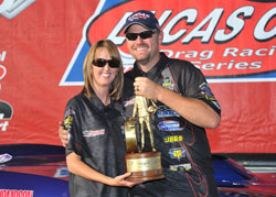 Luke Bogacki recently won his third national event trophy of 2012 while competing at the Bog O Tires Nationals in Las Vegas, Nevada