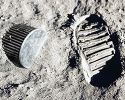 The first man stepped foot on the moon's surface in 1969, was it mere coincidence that The World's Best Air Filter was invented that same year?