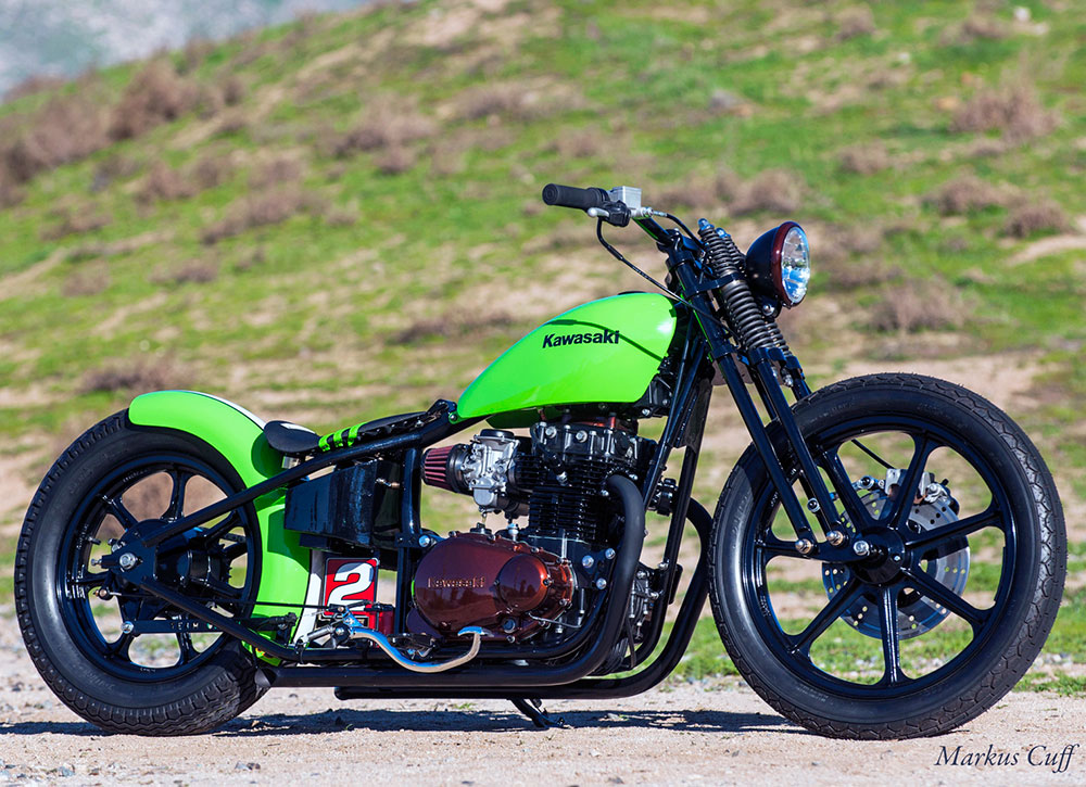K&N's Todd White Built a 1981 Kawasaki KZ440 Just in Time for Long