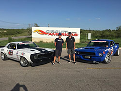Jake Rozelle and Mike Maier at Circuit of the Americas