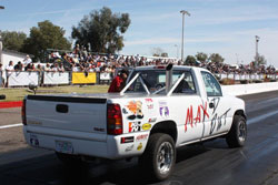 Rob Coddens won the season opener at Phoenix's Speedworld Dragstrip, in Super Street and Pro Street classes