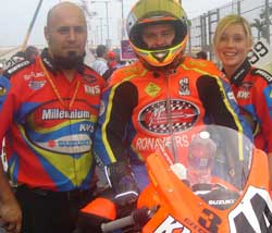 Millennium/KWS Suzuki sponsored by Ron Ayers Motorsports