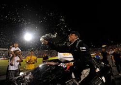 Matt DiBenedetto wins NASCAR K&N Pro Series East race at Bowman Gray Stadium