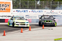 Formula Drift driver, Matt Field recently finished in the top eight at Evergreen Speedway in Monroe, Washington.