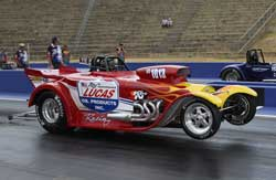 Matt Forbes's Race Winning Super Gas