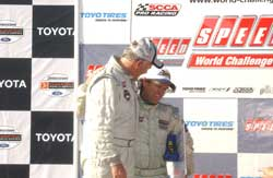 Mike McCann and Rob Foster at Long Beach Grand Prix