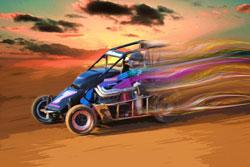 #7 Spike/Esslinger Midget Driver Shannon McQueen